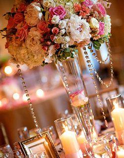 Wedding, Flowers, Reception, Pink