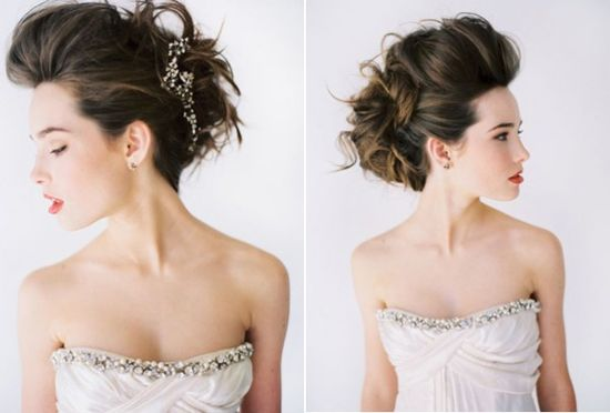 Fun wedding hair