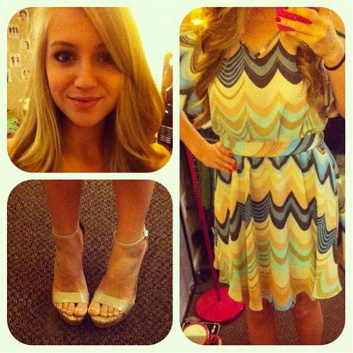 Adorable LC Lauren Conrad dress!