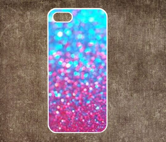 iphone 4s case Glitter - iphone 5 case iphone iphone 5s case iphone 5c case Hard plastic Soft rubber iphone 5 5s 5c case
