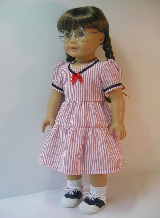 19441077  American Girl Doll Dress 18 Inch Doll by terristouch, $20.25