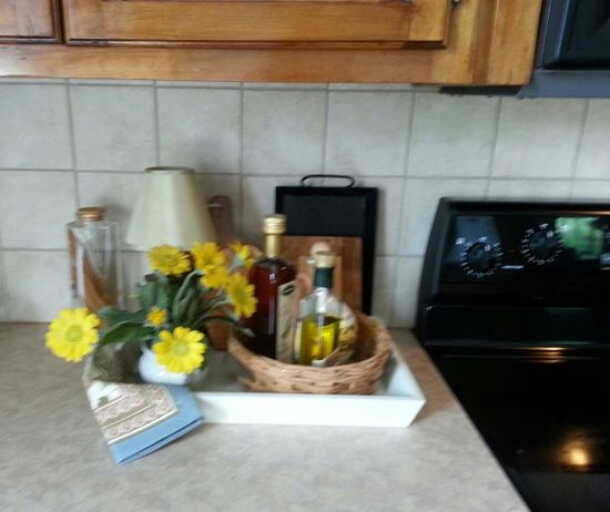 JL Home staging - kitchen decor