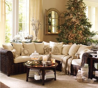 Christmas decorating....casual, understated elegance.