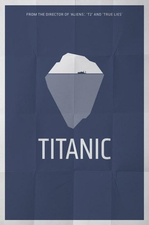 Titanic minimalist poster