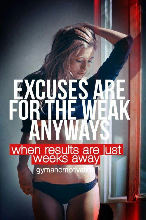 Don't be weak #workout #motivation ? Visit www.thatdiary.com for tips + advice on health & fitness