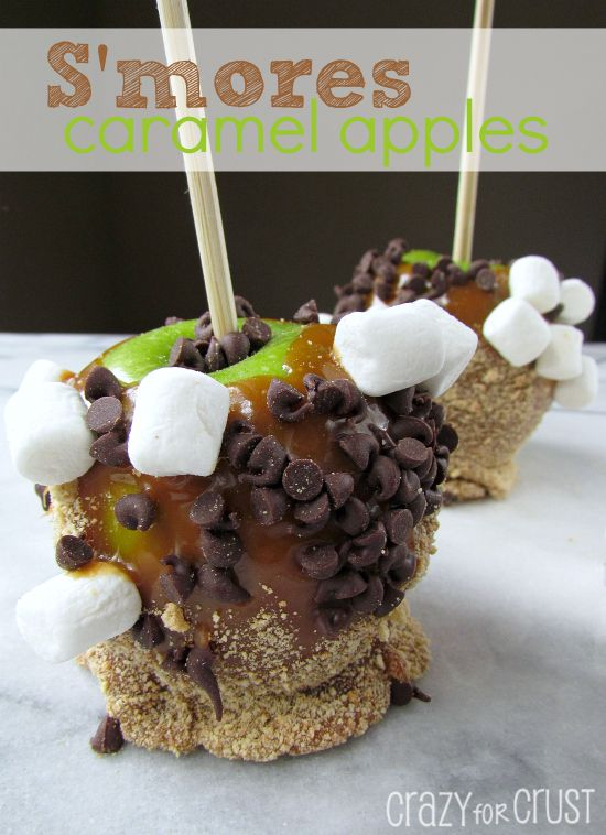 S'more Caramel Apples