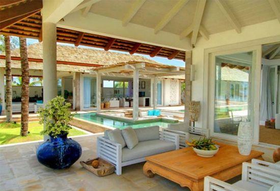 Contemporary Villa Living room Design