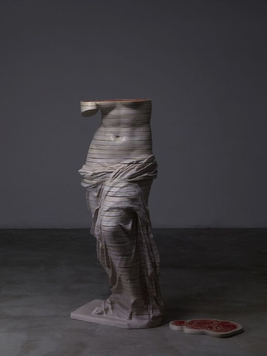 Internal Anatomy Layered Within Classic Sculptures by Chinese artist Cao Hui @My Modern Met