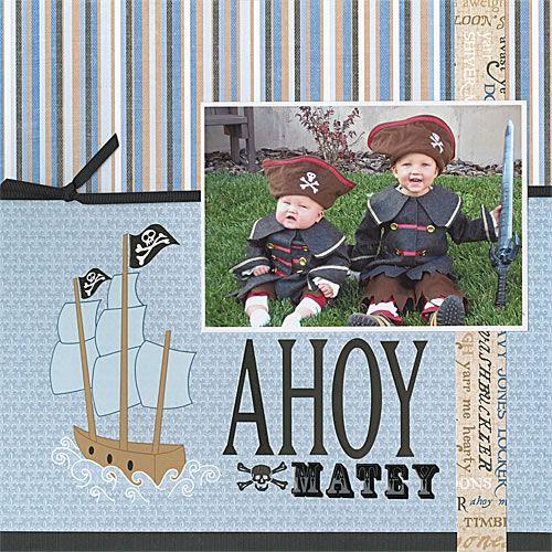 Ahoy Matey - Scrapbook.com