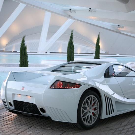 Beautifully designed GTA Motors Spano Supercar