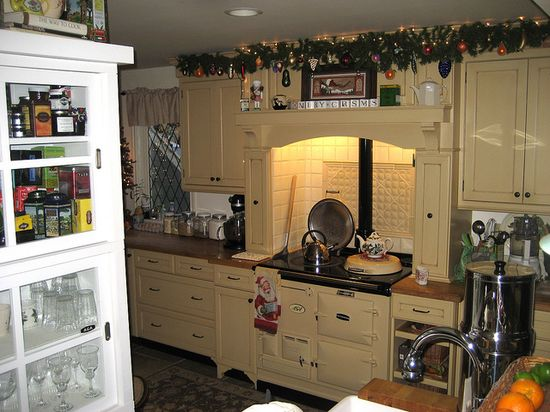 Christmas Aga. Tea time on the AGA by AGA~mum, via Flickr