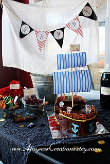 Jake and the Neverland Pirates Party.... LOVE THIS!!
