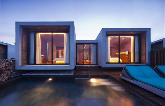 Modern Architectural Design, Boxy Rooms