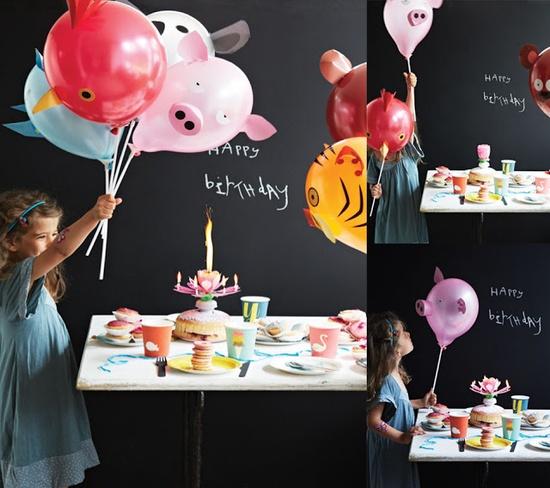 DIY Animal Party Balloons