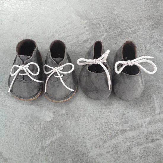 little grey shoes