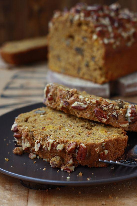 Spiced Pecan Pumpkin Bread recipe by SeasonWithSpice.com