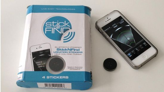 Sticknfind - Bluetooth tracking device for keys, phones, anything!