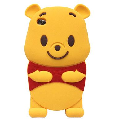 Winnie the Pooh 3D character phone case