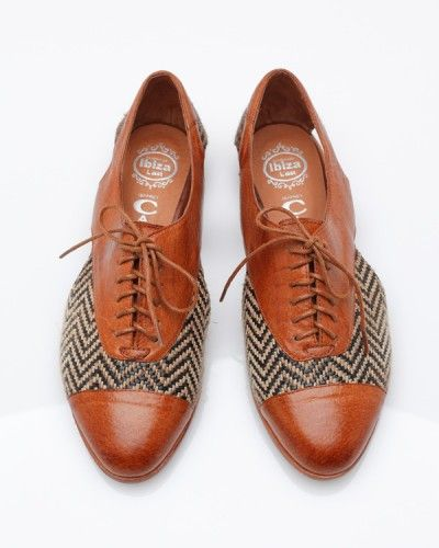 herringbone oxfords