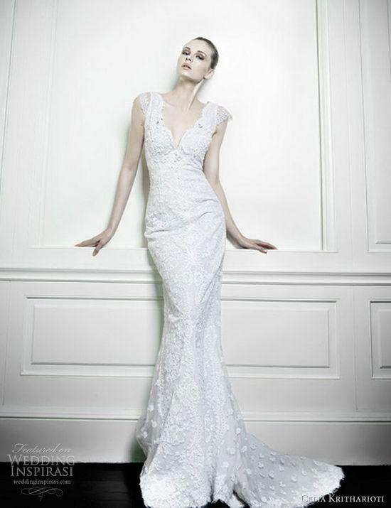 Celia Kritharioti (Greece) #bridal #wedding #gown #dress