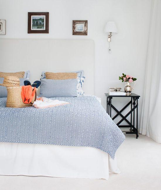 navy bedroom  #decor #quartos #bedrooms