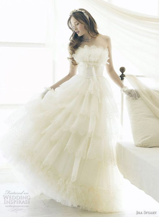 Romantic Wedding Dresses by Jill Stuart
