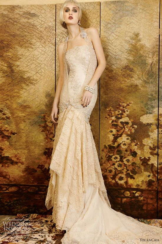 Yolan Cris 2013 mademoiselle vintage sydney wedding dress