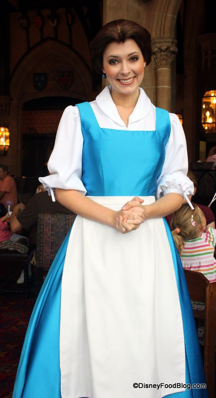 Dine with the princesses at Cinderella's Royal Table (the CASTLE!!) in Disney World --So expensive!!