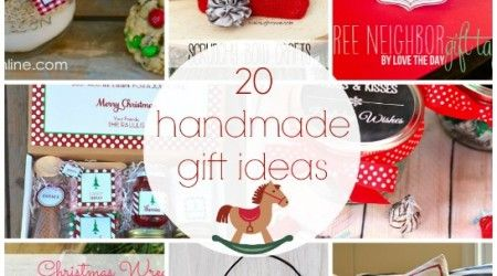 20 Handmade Gift Ideas {Link Party Features}