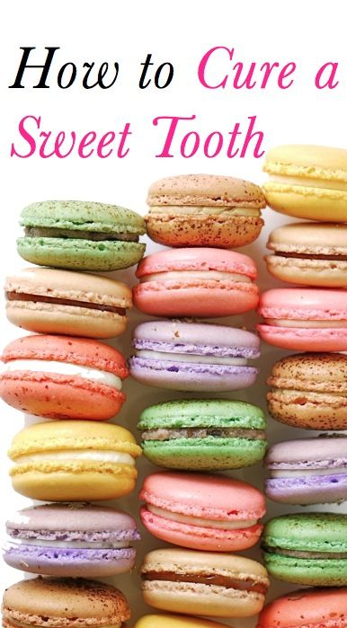 // Expert tips to cure a sweet tooth.
