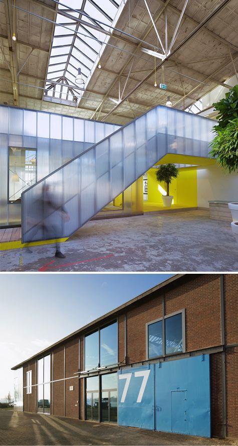 office design by Ector Hoogstad Architecten