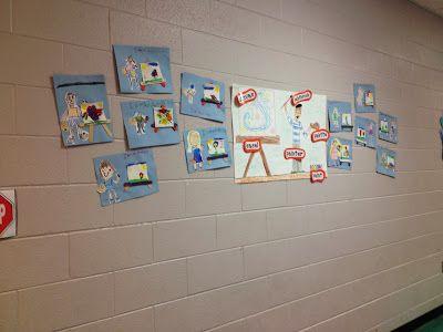 Kindergarten Painting Art lesson