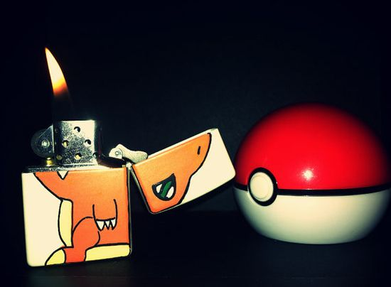 Charmander Lighter / 21 Excellent Pieces Of Pokémon Merch You Can Buy On Etsy