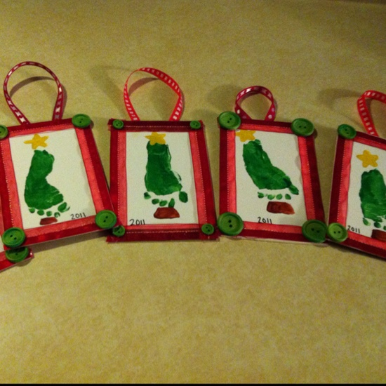 I think we could frame these for grandparent gifts! Super cute, especially from grandparents that rarely see the grandkids!
