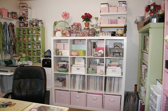Scrapbook storage ideas