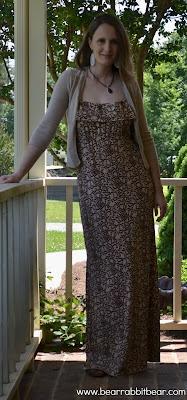 Finished Soho Maxi Dress!