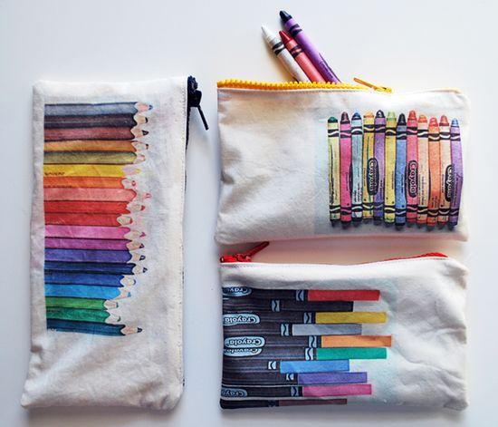 Crayon Pouch