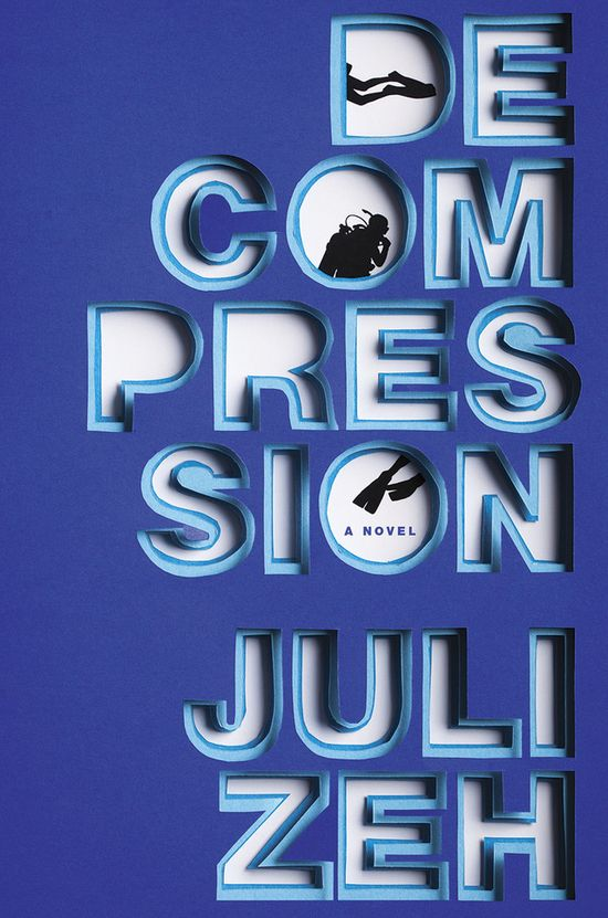 Decompression – cover design by Emily Mahon