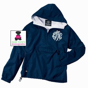 monogrammed pullover.... Someone stop me!