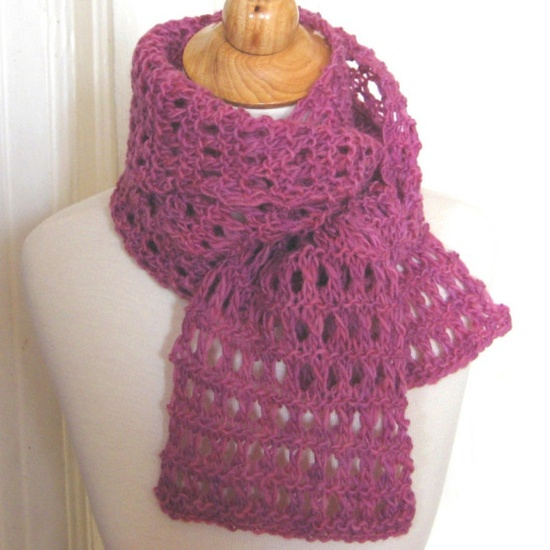 Heavenly Rose Lace Scarf