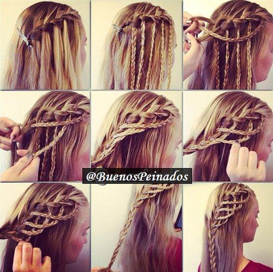 Amazing braided hair tutorial!