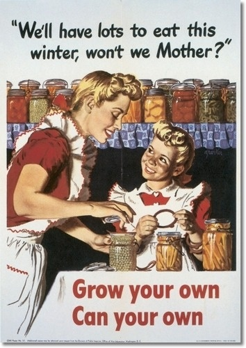 Making food storage a family affair!