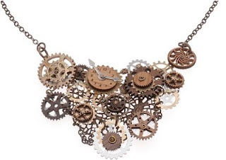 Steampunk jewelry tutorials