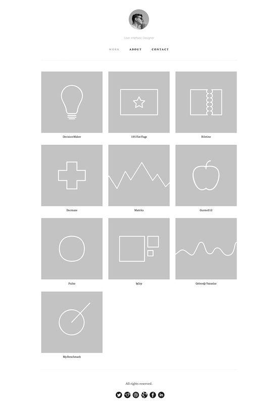 Muharrem Senyil - Flat UI Design