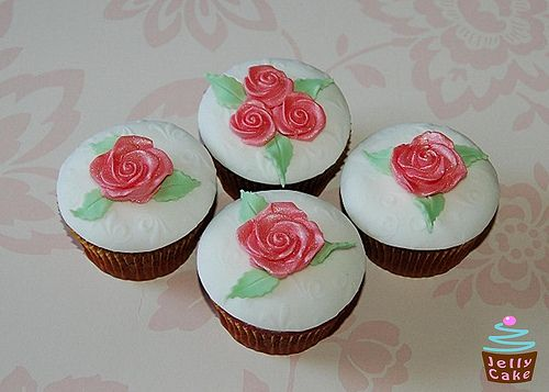 Rose Cupcake Collection by www.jellycake.co.uk, via Flickr