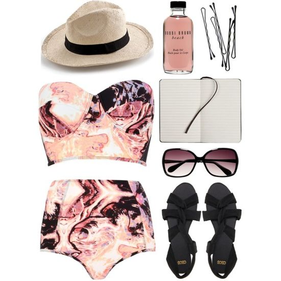 summertime fine. by goldiloxx on Polyvore