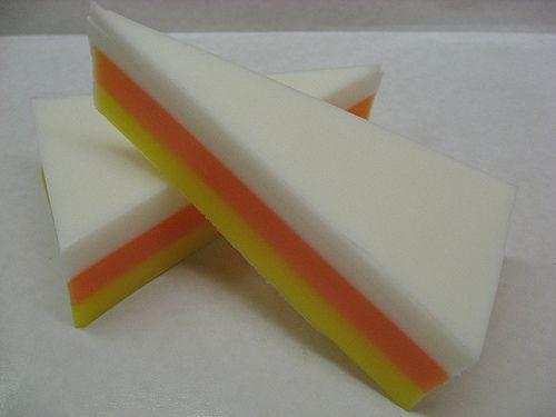 Candy Corn Handmade Soaps