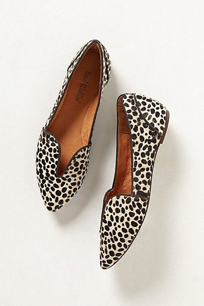 lydia cutout loafers in dalmatian spots