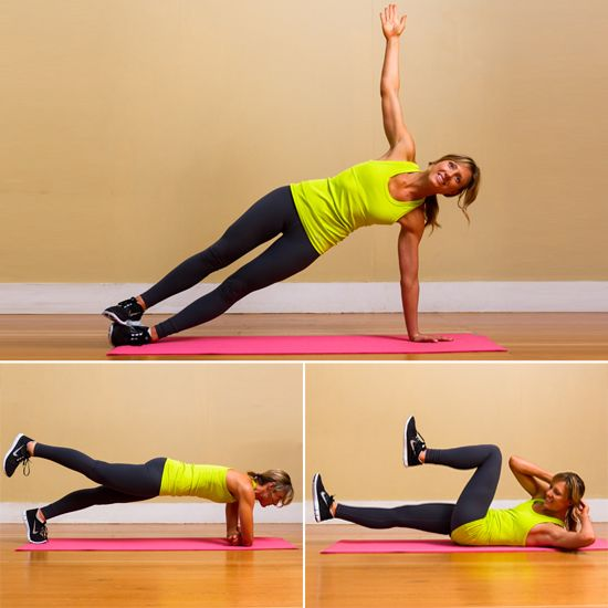 Triple Threat: Fitness Full-Body Circuit Workout