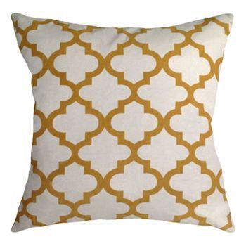 Colordrift Lattice Luxe Decorative Pillow